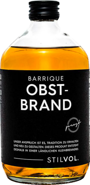Stilvol Barrique Obstbrand 40 %