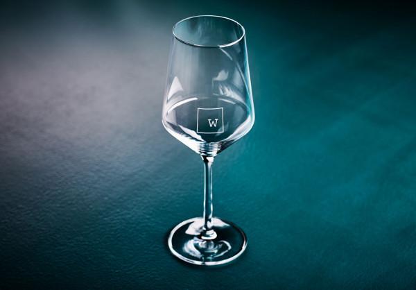 Weinladen Rotweinglas