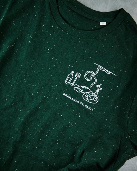T-Shirt St. Pauli grün
