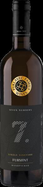 Seven Numbers Furmint 7. Single Vineyards