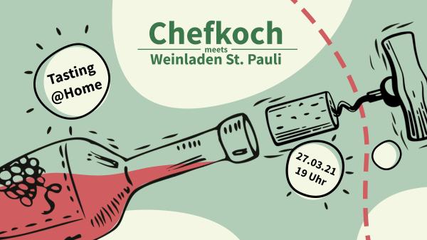 """Die """"Chefkoch meets Weinladen St. Pauli"""" Tasting Box"""