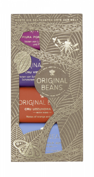 Original Beans Schokolade - Mini-Kollektion