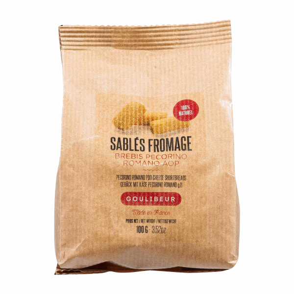 Sablés bretonisches Buttergebäck Käse