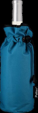 Kühlermanschette blau mit Kordelzug
