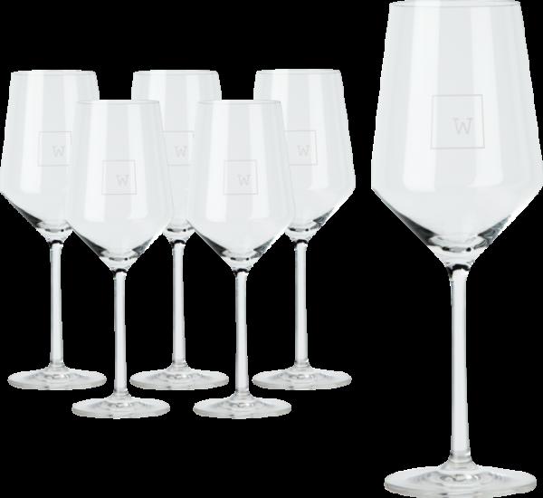 Weinladen Weißweinglas Pure
