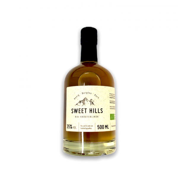 Sweet Hills Bio-Kräuterlikör